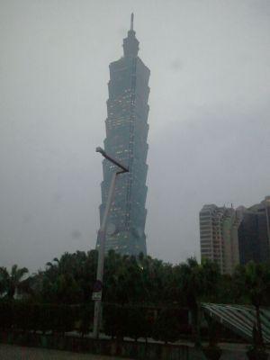 台北101です。かつて世界一の高さでした。
