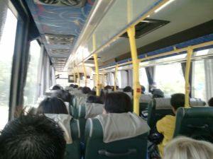 バスで大澳へ!