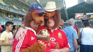 The British & Irish LIONS vs BARBARIANS