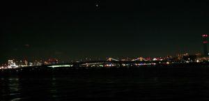 夜景のベイサイド