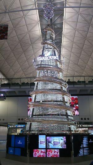香港国際空港のツリー