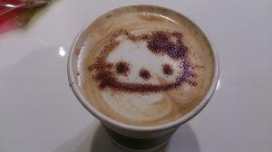 キティちゃんのカフェ