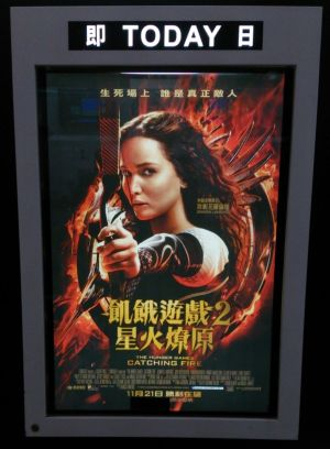 THE HUNGER GAME 2 CATCHING FIRE