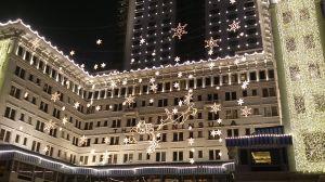 ペニンシュラホテルのディスプレイ