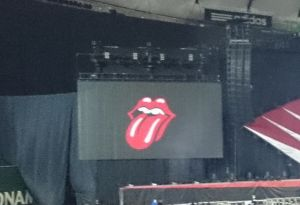 The Rolling Stones 14 on fire Japan Tour