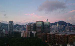 香港から帰る