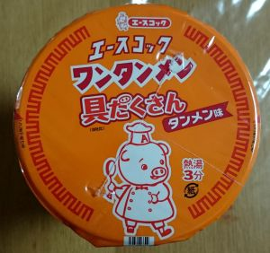 エースコック ワンタンメン 具だくさん タンメン味