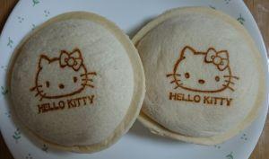 キティさんのポケットサンド