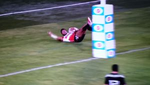 JAPAN XV vs MAORI ALL BLACKS 第一戦