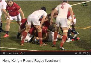 The Ustinov Cup Hong Kong vs Russia 1st match