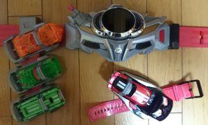 仮面ライダードライブ DXドライブドライバー & シフトカーホルダースペシャルセット
