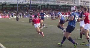 Asian Rugby Championship 2015 Hong Kong vs Korea