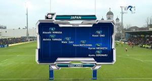Japan vs Romania 2014/11/15