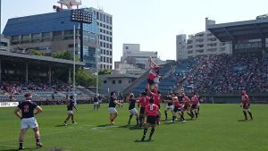 Asian Rugby Championship 2015 Japan vs Hong Kong