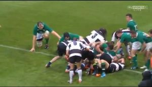 BARBARIANS vs IRELAND XV