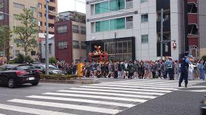 住吉神社例祭 2015 2日目(8月1日)
