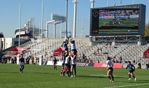 女子7人制ラグビーアジア予選 第2戦 日本大会 1日目