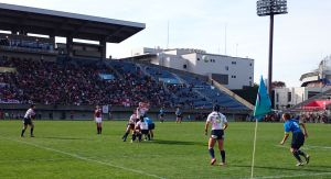 女子7人制ラグビーアジア予選 第2戦 日本大会 2日目