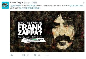 「Who the F*@% is Frank Zappa?」って?