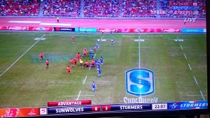 SUPER RUGBY ROUND12 SUNWOLVES vs STORMERS