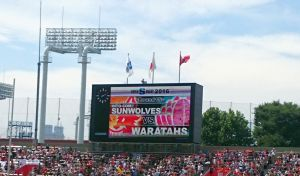 SUPER RUGBY ROUND15 SUNWOLVES vs WARATAHS
