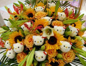 キティさんの花束