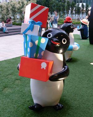 ペンギンとネコ
