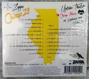 Chicago '78 / Frank Zappa
