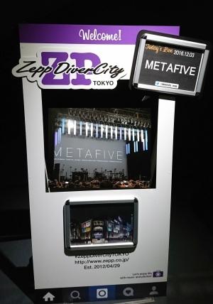"""METAFIVE """"WINTER LIVE 2016"""" @ 東京 ZEPP DiverCity"""
