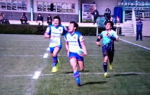 第54回 日本ラグビーフットボール選手権大会準決勝 第一試合
