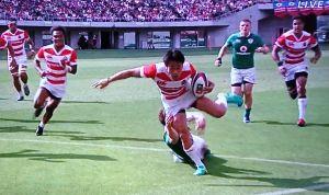リポビタンDチャレンジカップ2017 第2戦 JAPAN vs IRELAND