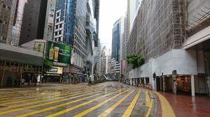 香港行ってきた 2 台風だよ...
