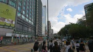 香港行ってきた 3 台風だったね...