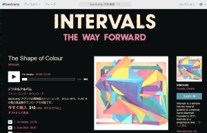 The Shape of Colour / Intervals