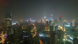 年末に上海