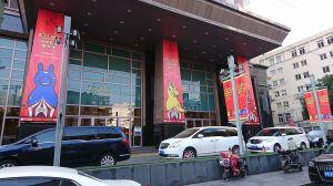 上海のモールイベント