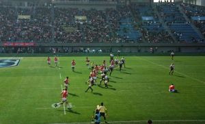 SUPER RUGBY ROUND2 SUNWOLVES vs BRUMBIES