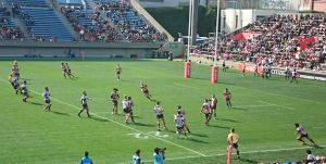 SUPER RUGBY ROUND3 SUNWOLVES vs REBELS