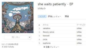 she waits patiently / ichika