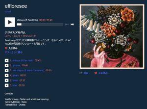 effloresce / covet