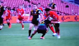 SUPER RUGBY ROUND3 SUNWOLVES vs CHIEFS