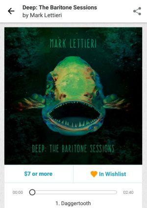 Deep:The Baritone Sessions / Mark Lettieri