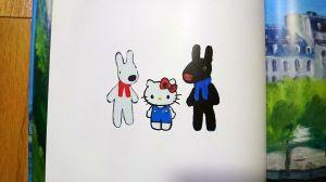 Hello Kitty & Gaspard et Lisa A Paris!