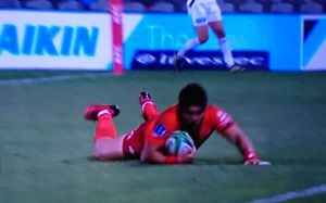 SUPER RUGBY ROUND4 SUNWOLVES vs BLUES