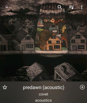 acoustics / COVET