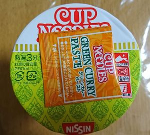 CUP NOODLES グリーンカレー