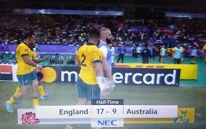 RWC2019 準々決勝1日目 ENGLAND vs AUSTRALIA