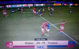 RWC2019 準々決勝2日目 WALES vs FRANCE