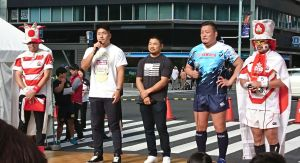 CHEERING FOR RUGBY @ 京橋