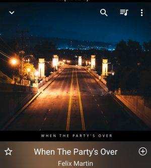 When The Party's Over / Felix Martin
